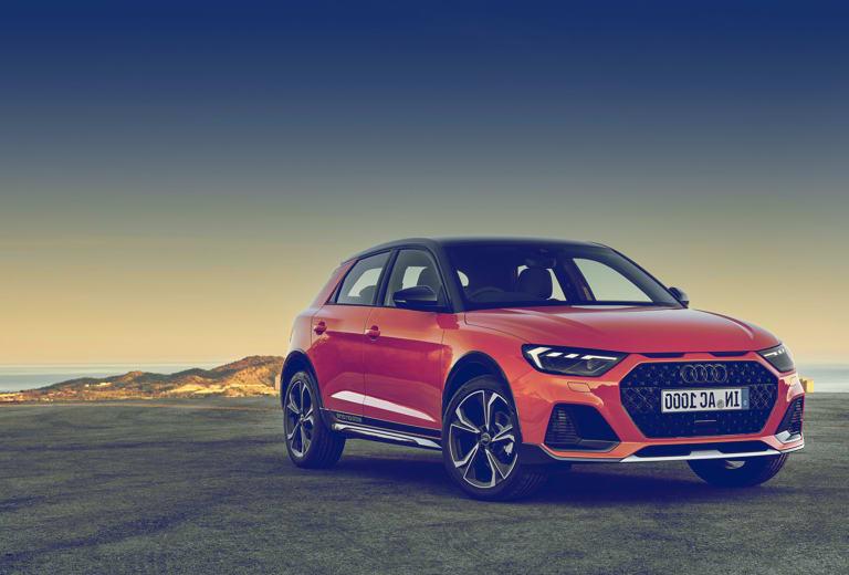 Audi A1 background