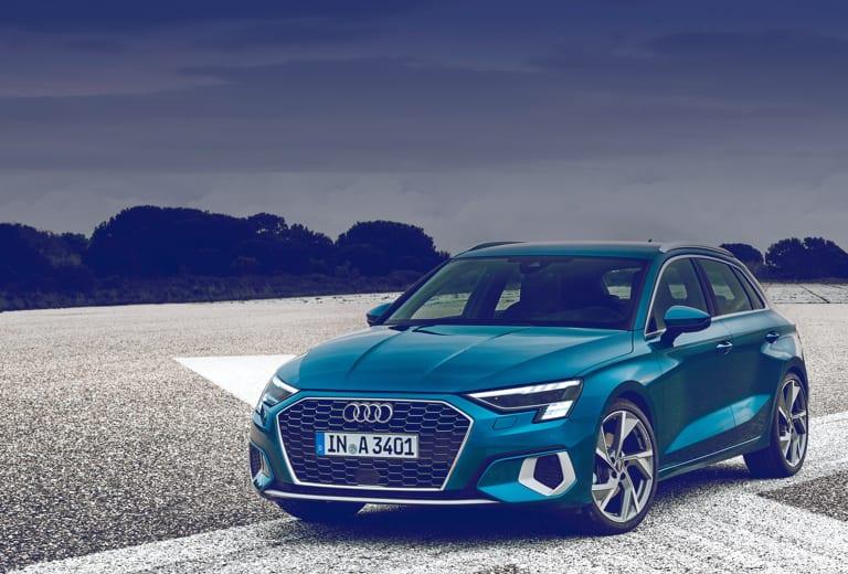 Audi A3 Sportback background