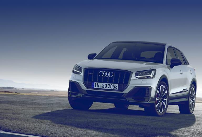 Audi Q2 background