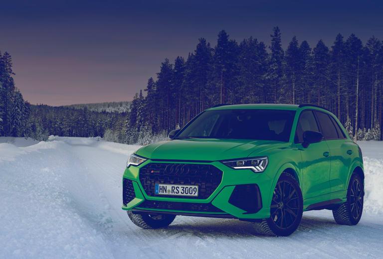 Audi Q3 background