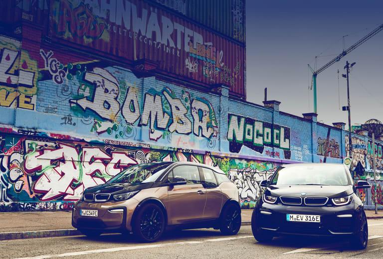 Bmw I3 background