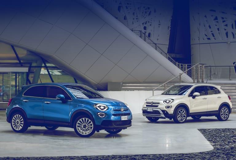 Fiat 500x background