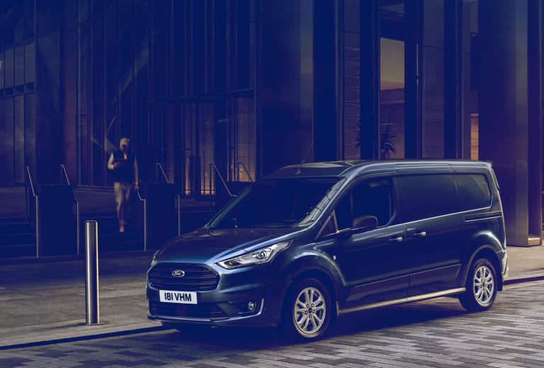 Ford Transit Connect background