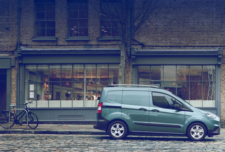 Ford Transit Courier background