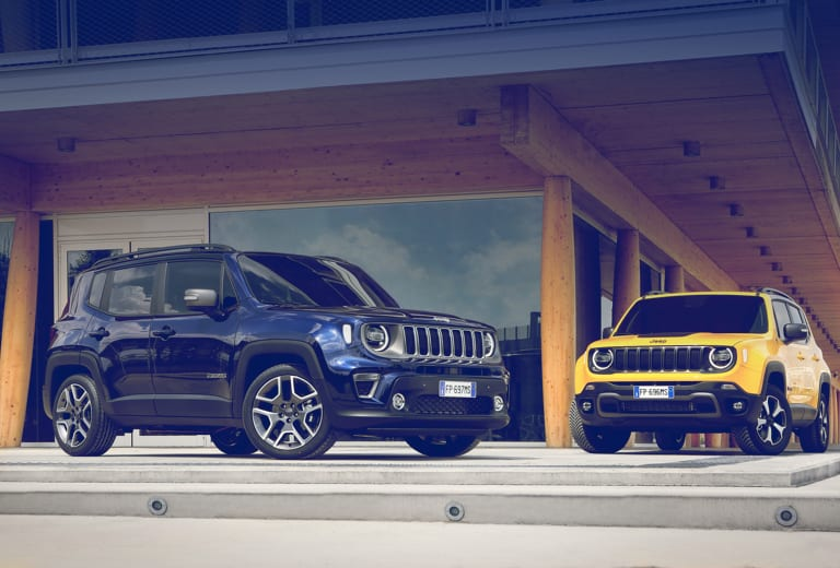 Jeep Renegade background