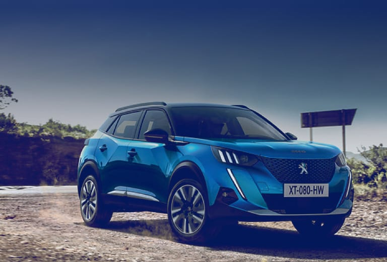 Peugeot 2008 background