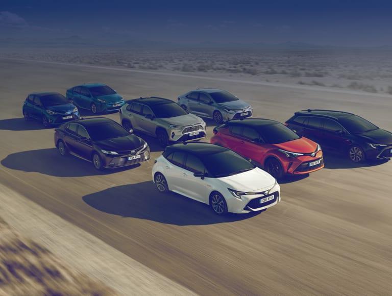 Renting Toyota particulares y empresas