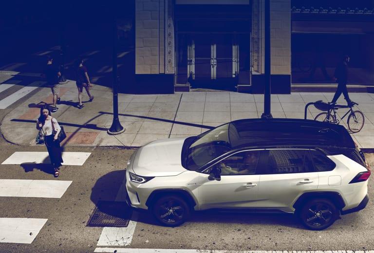 Toyota RAV4 background