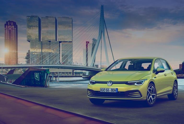 Volkswagen e-Golf background