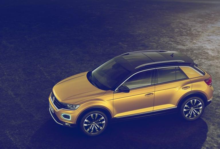 Volkswagen T-Roc background