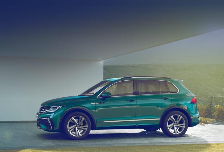 Volkswagen Tiguan background