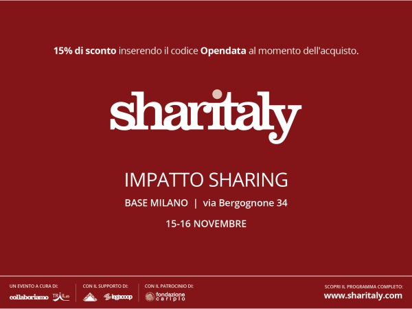 Data as a commons a Sharitaly