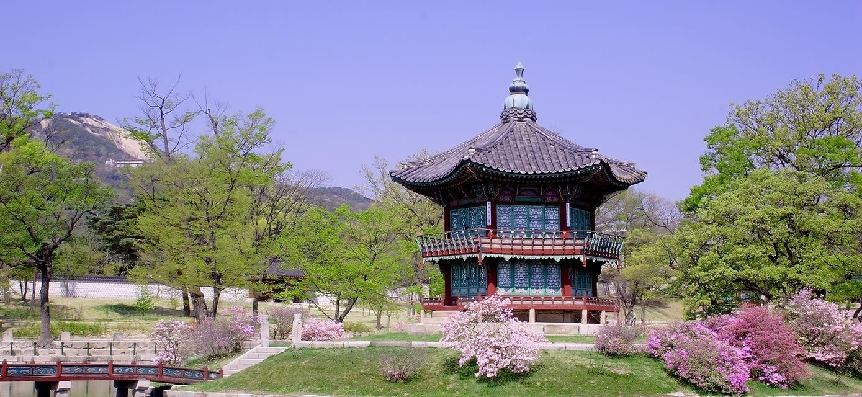 Pavillion, Kyoungbok Palace, Seoul
