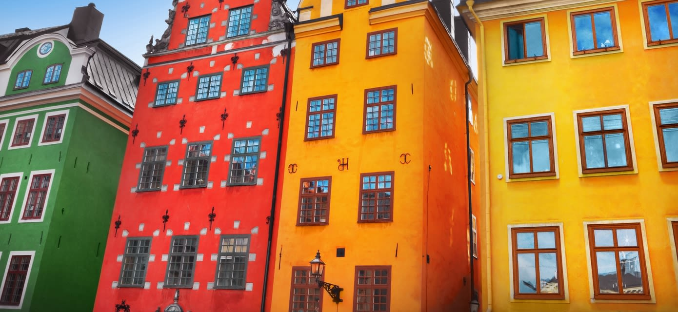 Stortorget place in Gamla stan, Stockholm, Sweden