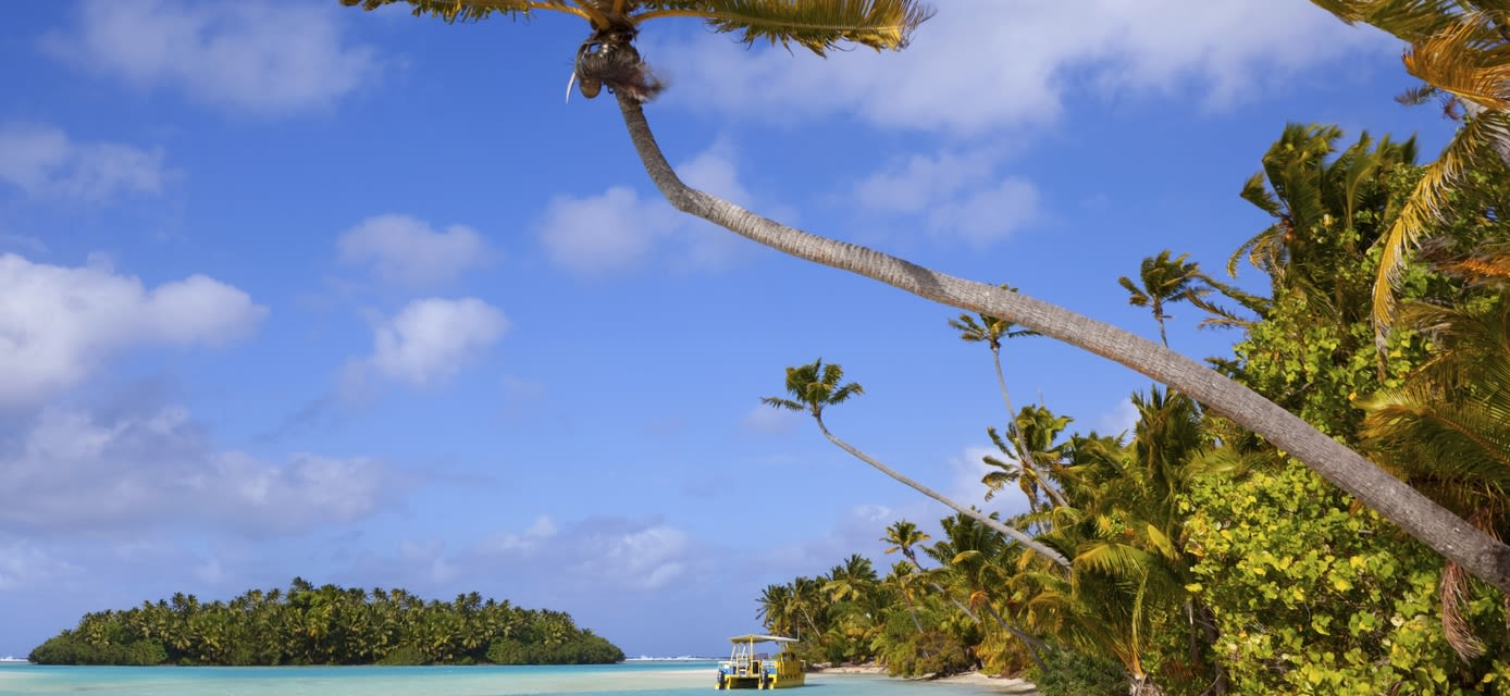 Beach, Aitutaki, Cook Islands