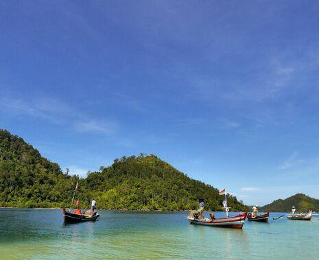 Cruising in Indonesia