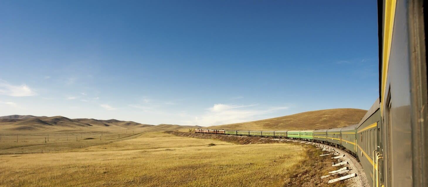 Trans-Siberian Railway - Silver Cabin Eastbound/Westbound