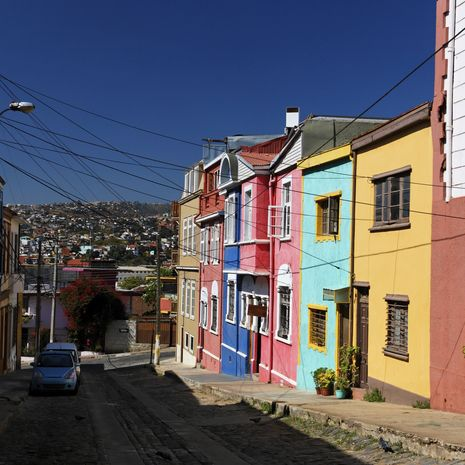 Valparaiso Extension to Splendours of Chile