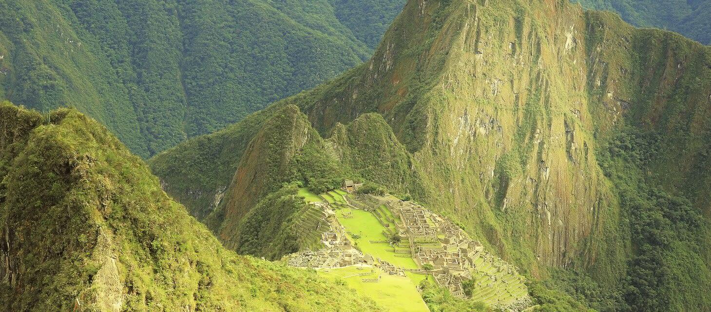 Inca ruins, Peru