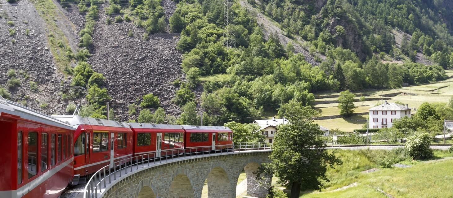 Grand Tour of Switzerland by Rail