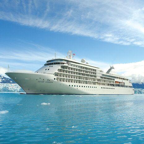 Silversea Alaska Cruise (Vista Cabin)