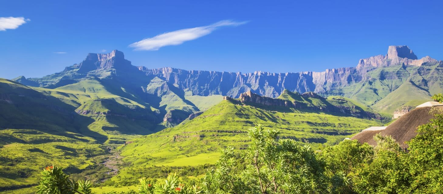 The Drakensberg Mountains, South Africa