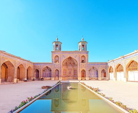 Nasir ol Molk Mosque in Shiraz, Iran
