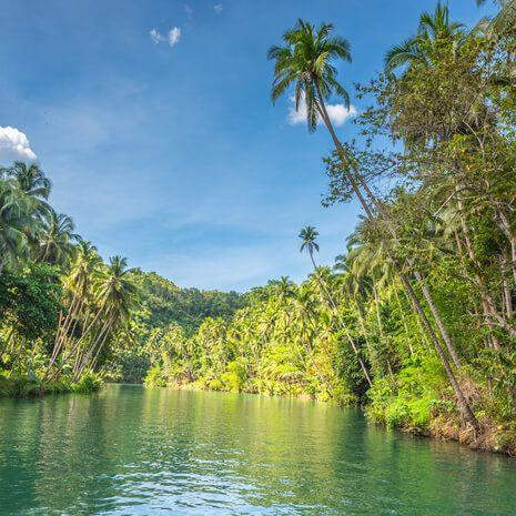 River Loboc cruise, Bohol Island