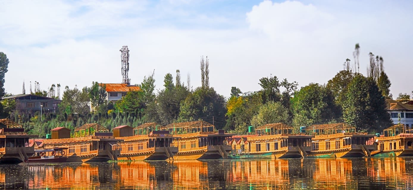 Houseboats on Dal Lake, Srinagar Heart of the Kashmir Valley