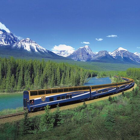 Rocky Mountaineer luxury rail journey, Canada