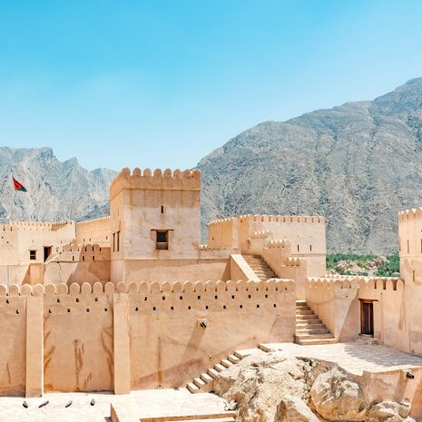 Nakhal Fort in Al Batinah