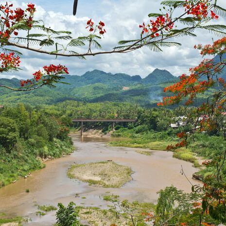 The Loas Mekong River Cruise