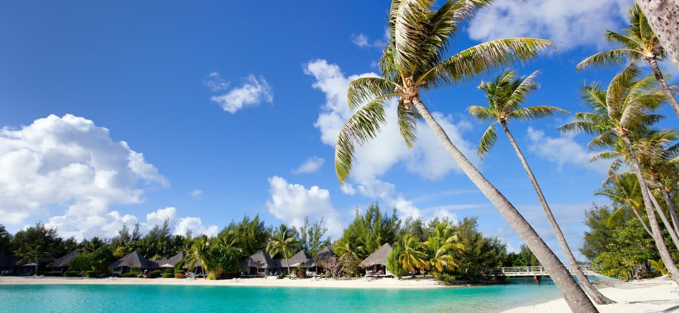 Beach, Bora Bora