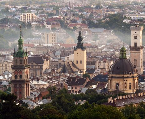 Unesco World Heritage city of Lviv