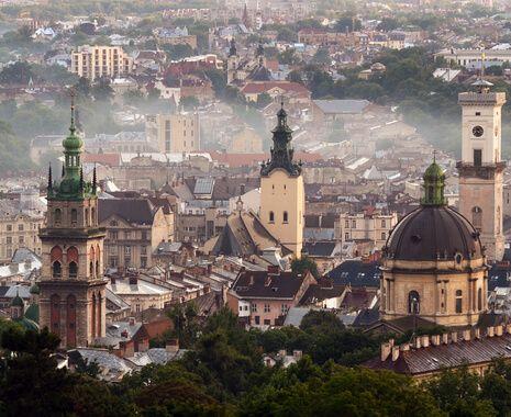 Unesco World Heritage city of Lviv