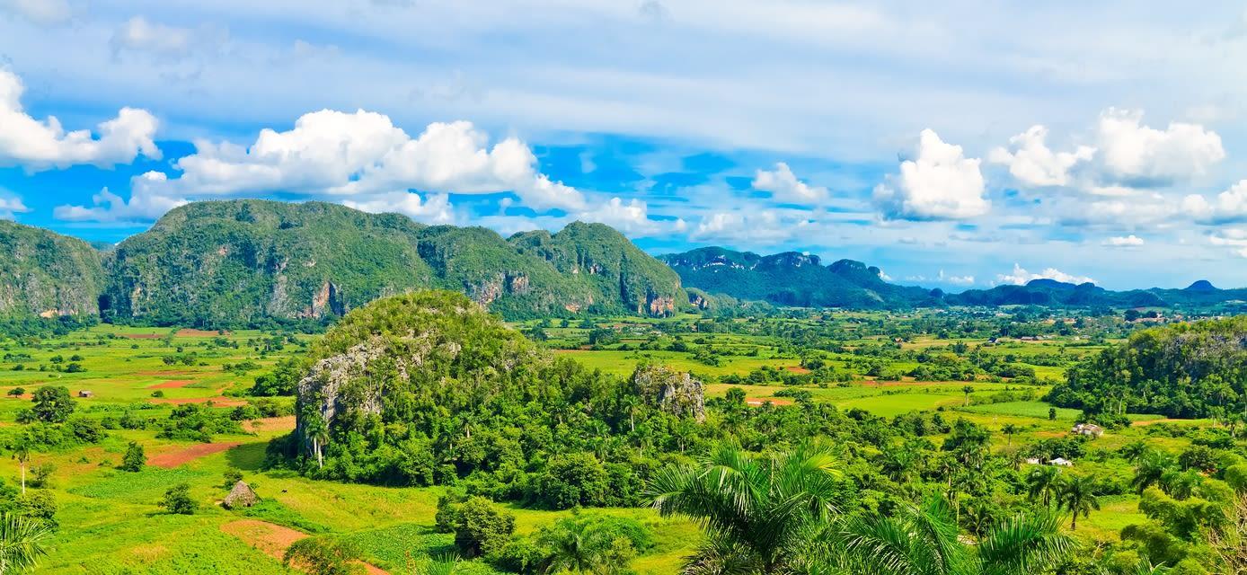 Limestone hills of Viñales