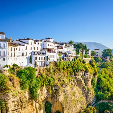Cliffside town of Ronda, Spain