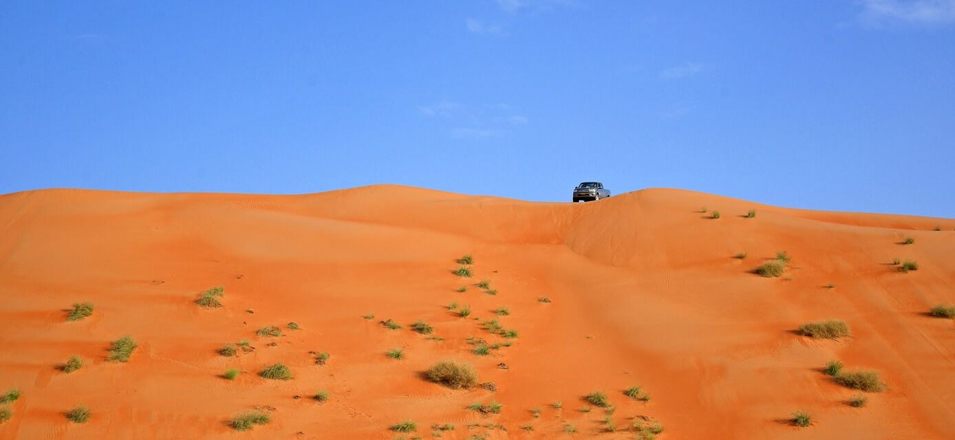 Wahiba Sands 4x4 dune driving