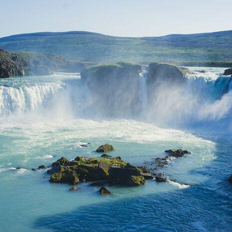 Goddafoss Waterfall, Iceland
