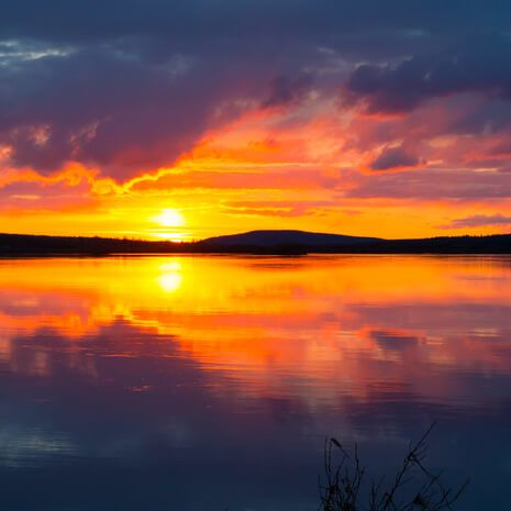 Midnight Sun, Finland