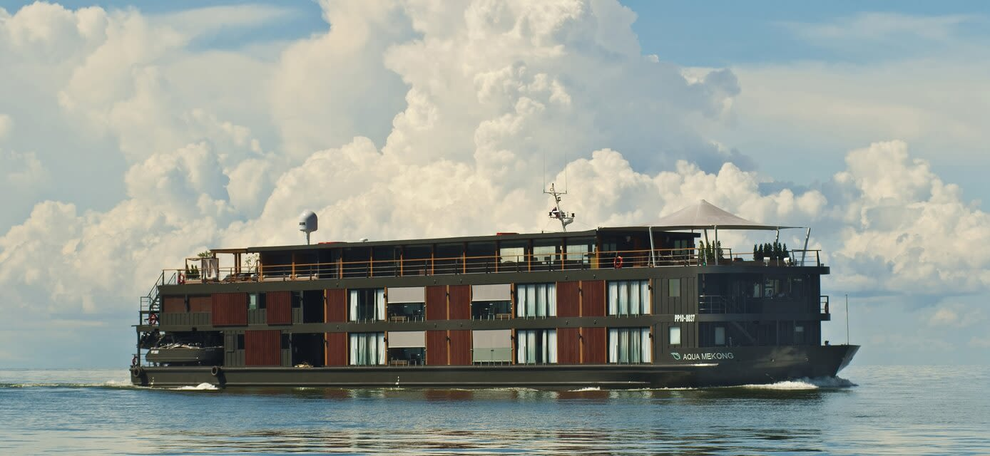 Aqua Expeditions Mekong River cruise