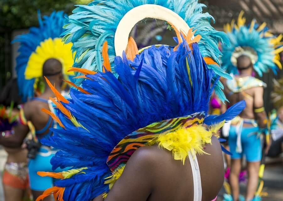 Rio Carnival performer