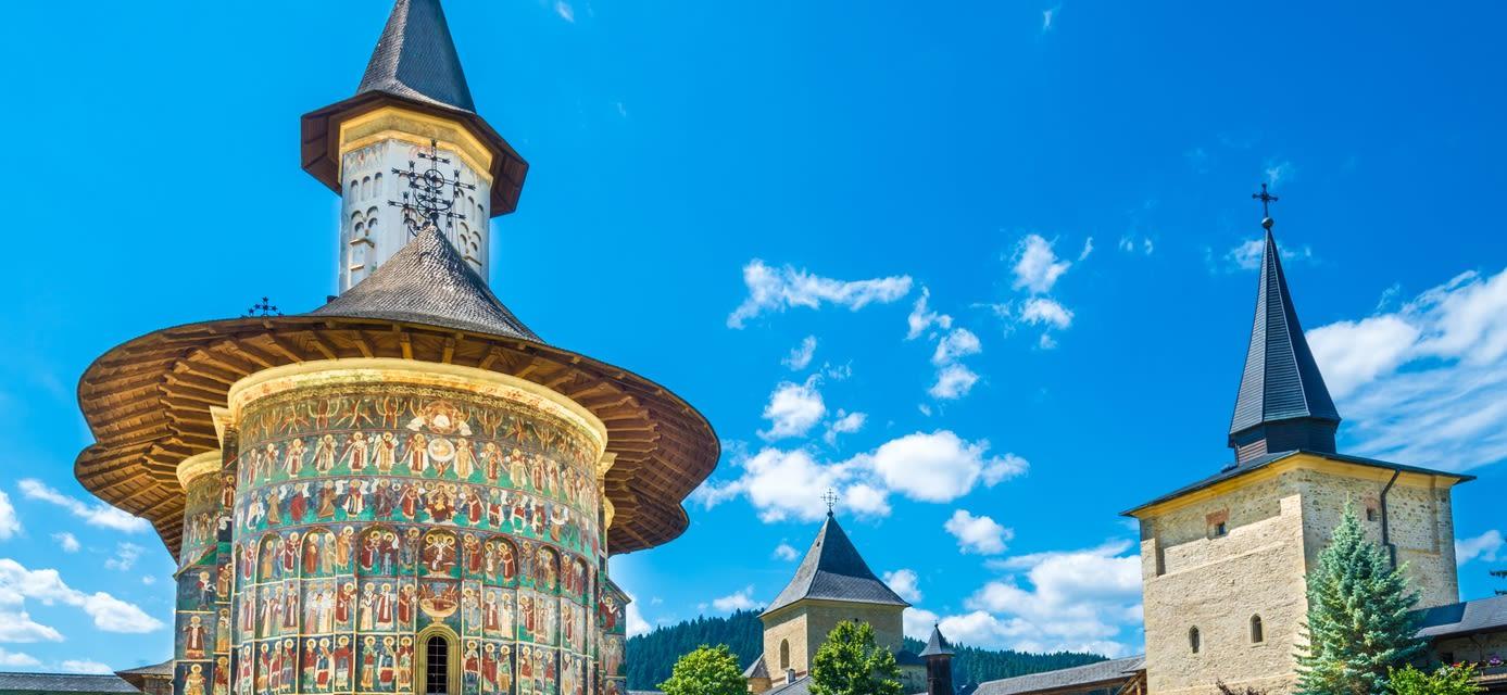 Sucevita monastery, Bucovina