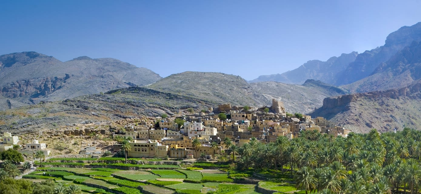 Bilad Sayt village, Oman