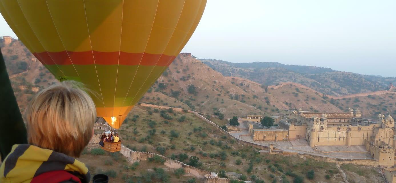 Hot Air Balloon Ride over Jaipur
