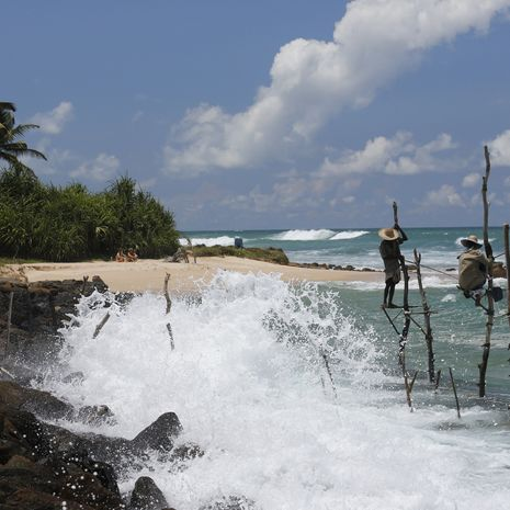 Ahanghama Stilt Fishing