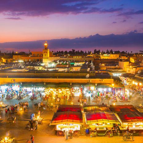 Djemaa el Fna square, Marrakech