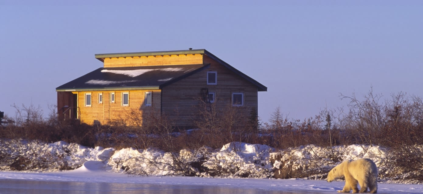 Dymond Lake Ecolodge - Courtesy of Churchill Wild, photo by Dennis Fast
