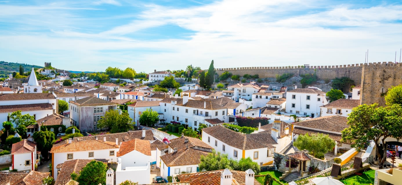 City walls of Obidos
