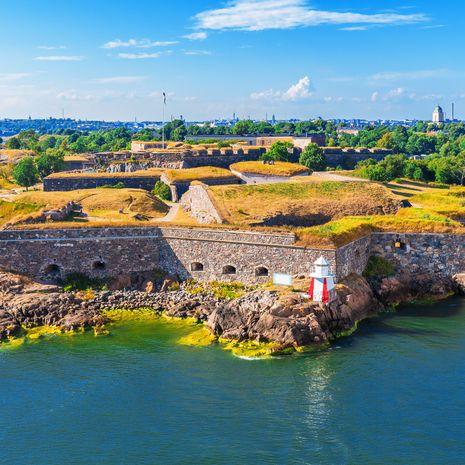 Suomenlinna (Sveaborg) sea fortress in Helsinki, Finland